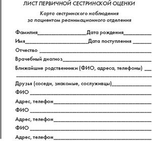 Бланки Истории Болезни Образец Скачать - фото 3