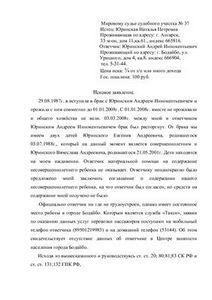 образец заполнения искового заявления в арбитражный суд - фото 3