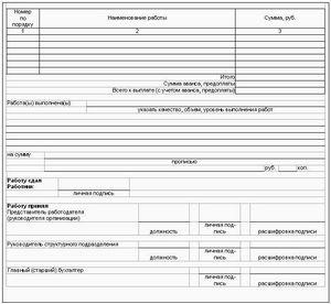акт освидетельствования проведения основных работ по строительству образец - фото 4