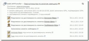 анкета поручителя образец заполнения